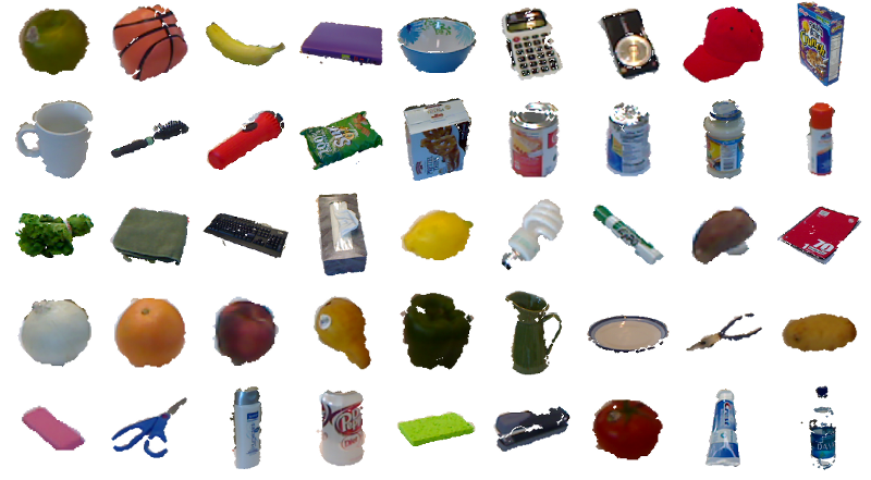 Rgb d kinect object dataset - New uses common items ...